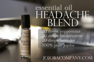 essential oil headache mix