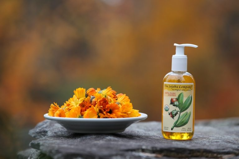 calendula infused jojoba
