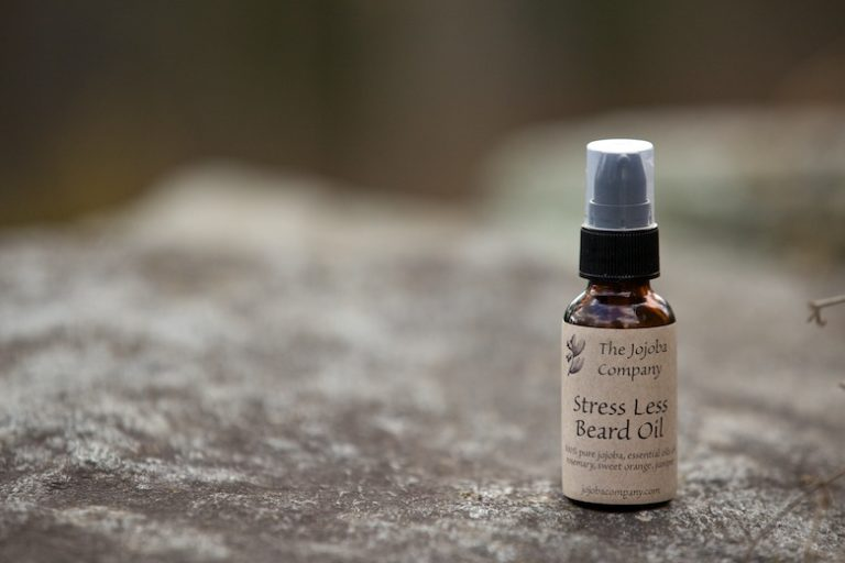 Stress less beard oil recipe