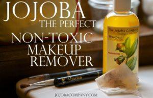jojoba is the perfect makeup remover