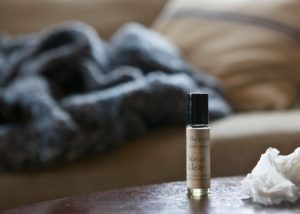 sinus clear essential oil mix