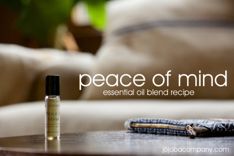 anxiety and depression essential oil recipe