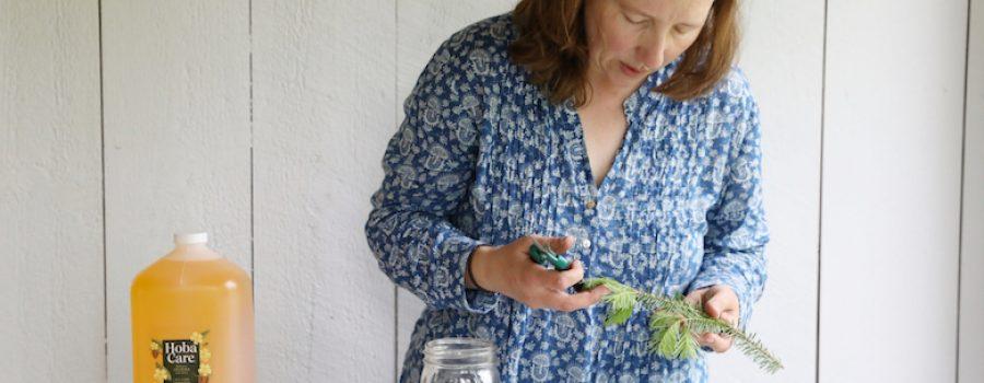 Cari Processing balsam to infuse in jojoba
