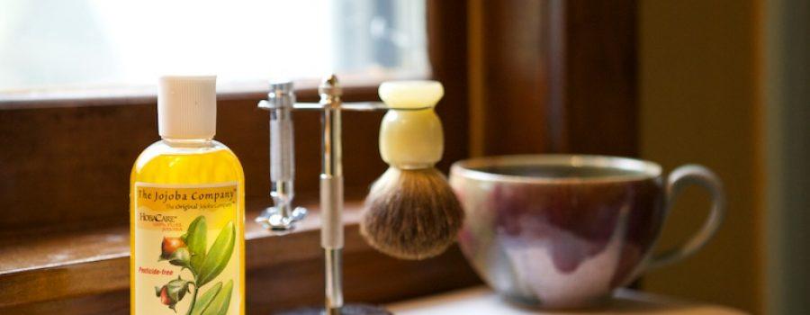 jojoba shaving balm
